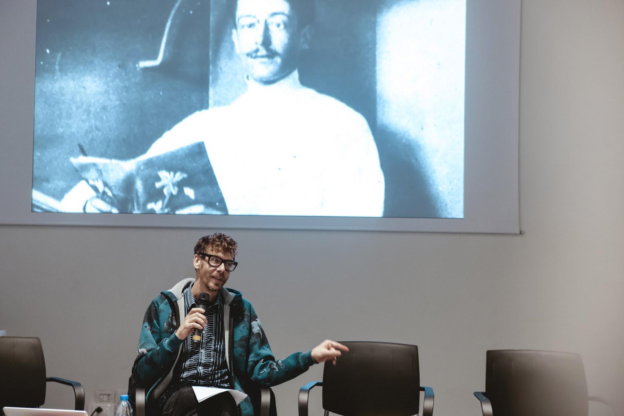 Esotismo autentico, Florian Meyer/Don't Dj, lecture a MASH 2016, Milano