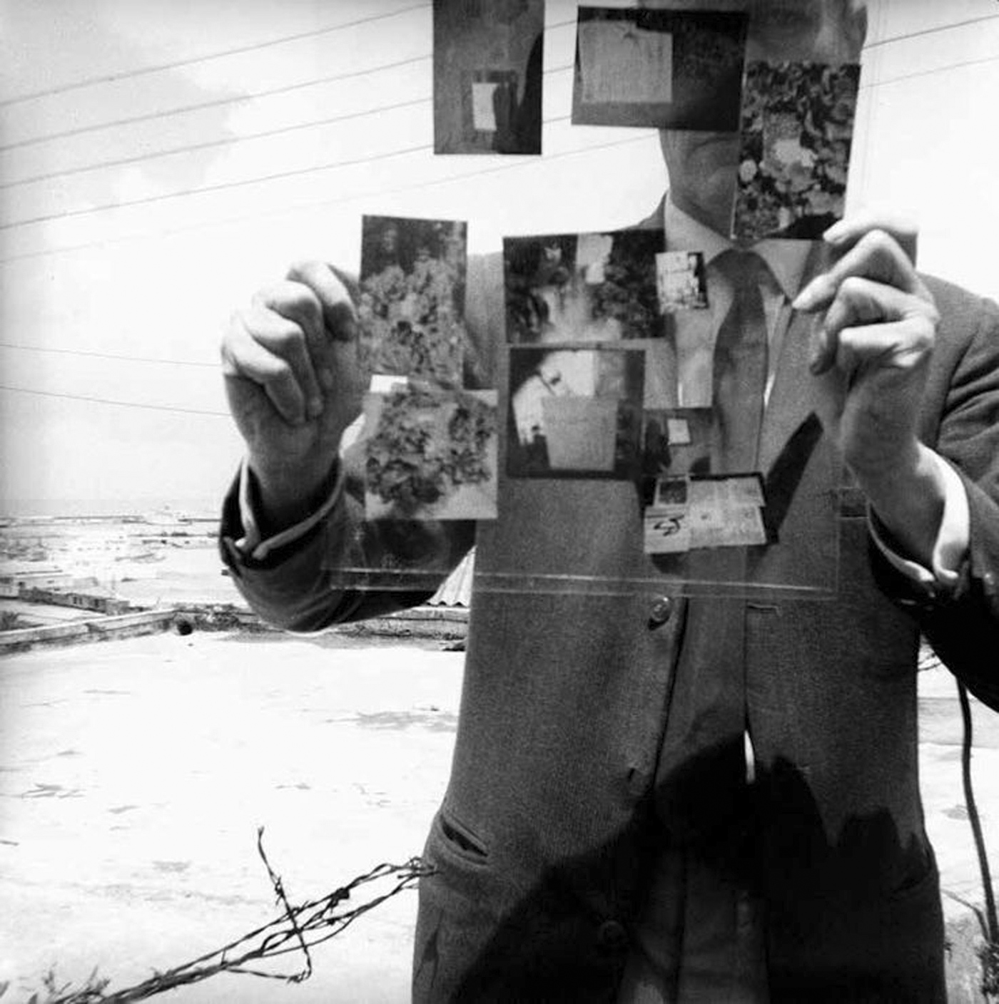 "William Burroughs, ""Self-Portrait, Tangiers"" (1964)"