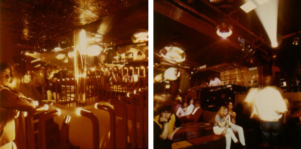 Discoteca New York, inizio anni '80